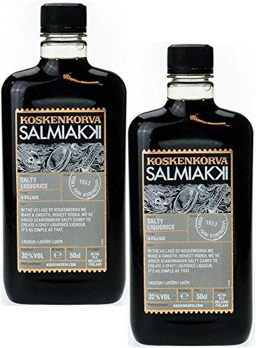 Twin Pack Koskenkorva Salmiakki (2 x 0,5 Liter) 32%Vol.Alk.