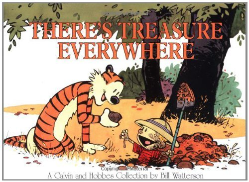(There's Treasure Everywhere) By Watterson, Bill (Author) Paperback on 01-Mar-1996