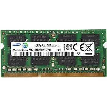 Samsung Ddr3 1600 Sodimm 8gb 1gx64 Cl11 Samsung Chip Notebook Memory At Amazon Com