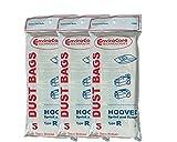 15 Hoover Type R Sprint, Tempo, Allergy Vacuum Bags, Sprint, Tempo, Hornet, PortalPower II, PTP II Vacuum Cleaners, 4010063R, H-4010063R, 43655095