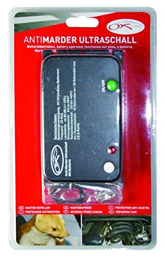 OK Cars AZ-KFZ-207 Anti-Marder Ultraschall, Batterie