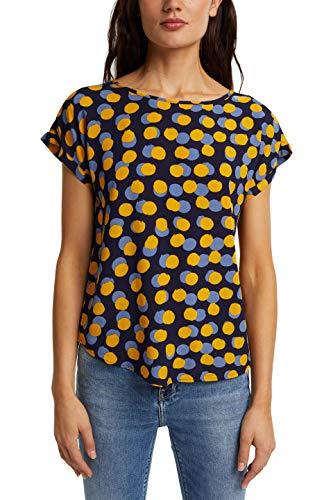 ESPRIT Damen 070EE1F315 Bluse, 403/NAVY 4, 36