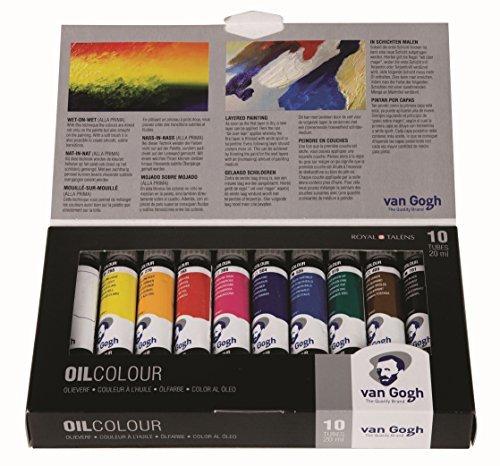 VAN GOGH OIL COLOUR BASIC PAINT SET 10X20ml by Van Gogh