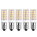SanGlory 5er Pack 5W E14 LED Lampe ersetzt 40W Glühlampe,warmweiß (3000 Kelvin),400 Lumen