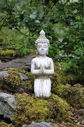 Estatua de Buda de piedra Drift Madera interiores y exteriores de jardín...