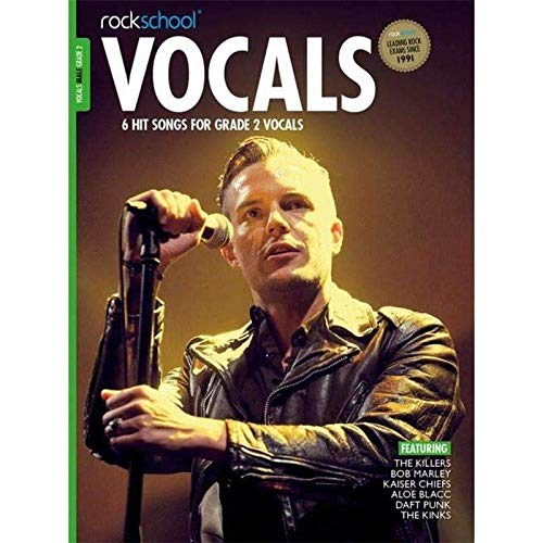 Rockschool Male Vocal Gr2 Bk/Audio Downl