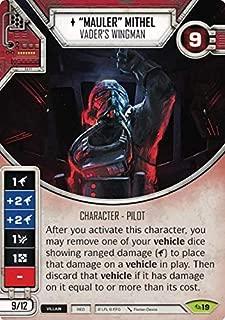 Star Wars Destiny - Mauler Mithel - Vader's Wingman - Rare - Across The Galaxy