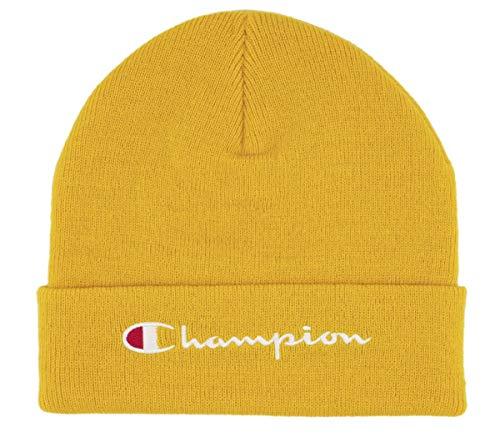 Champion Rochester Beanie Cap Mütze Strickmütze gelb