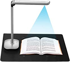 $129 » Aibecy F50 Foldable High Speed USB Book Image Document Camera Scanner 15 Mega-Pixels A3 & A4 Scanning Size with LED Light AI Technology USB Foot Pedal for Classroom Office Library Bank for Windows