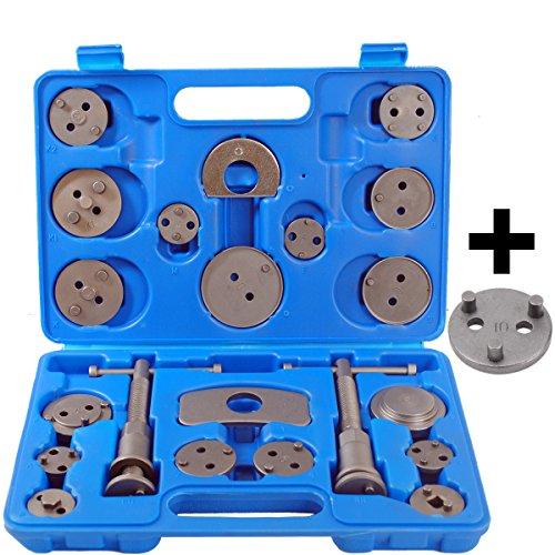 CCLIFE 23 tlg Bremskolbenrücksteller Bremskolben Rücksteller KFZ Werkzeug Satz