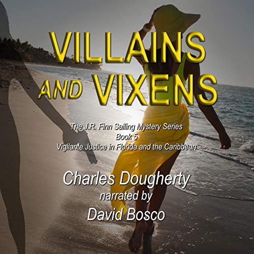 Villains and Vixens audiobook cover art