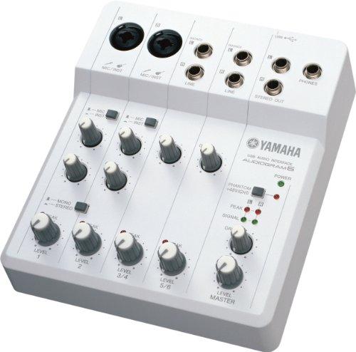 Yamaha AUDIOGRAM6 Computer Recording System