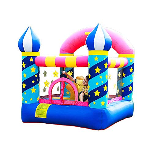 doctor dolphin Inflatable Bouncer Toddler Bounce House for Birthday Party with Air Blower