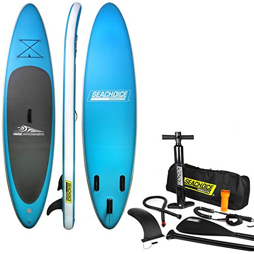 Inflatable stand-up paddle board kit