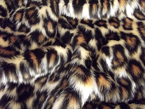 Minicraft bebé Leopardo Fun Fur, marrón/Beige, 75 x 50 cm