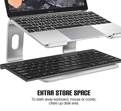 COCOCO Laptopständer Für Schreibtisch Laptop-Halter Riser-Ständer Notebook-Ständer Universal Abnehmbarer Tragbarer Notebook-Pc-Schreibtischhalter Aus Aluminiumlegierung