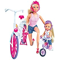 Simba - Set Steffi y Evi con bicicleta