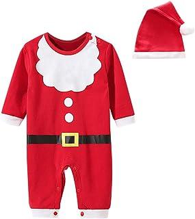 Conjunto y Conjuntos para niños, recién Nacido, bebés, niños, niñas, Navidad, Lindo, Punto, Manga Larga, Cosplay, Mono