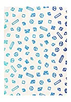 梨園染 手ぬぐい 注染 綿100% 日本製 塩の結晶