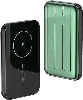 Magnetic Power Bank 5000MAH Ultra-tunn magnetisk trådlös laddare Powerbank för iPhone 12 12 Mini 12 Pro Max 15W PD QC Snab...