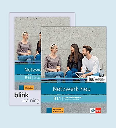 Netzwerk neu B1.1 - Media Bundle: Deutsch als Fremdsprache. Kurs- und Übungsbuch mit Audios/Videos inklusive Lizenzcode für das Kurs- und Übungsbuch ... (Netzwerk neu: Deutsch als Fremdsprache)