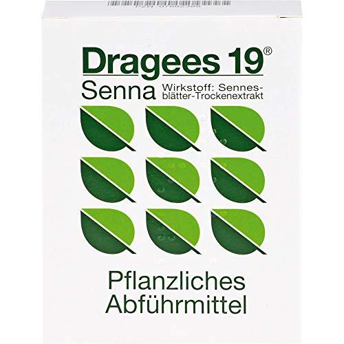 Dragees 19 Senna Pflanzliches Abführmittel, 28 St. Tabletten