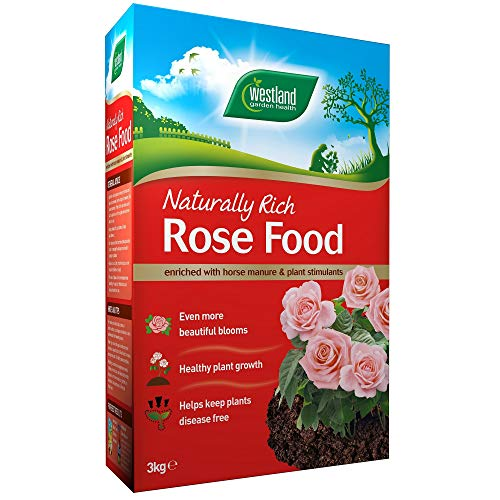 Westland Horse Manure and Plant Stimulant Enriched Rose Food, 3 kg
