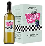 Wild Grapes, Premium DIY Wine Making Kits, Italian Pinot Grigio, 6L, Makes Up to 30 Bottles/6 Gallons of Wine
