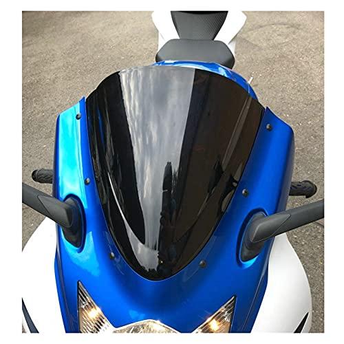diaodiao Motorrad-Wind-Deflektoren Windschutzscheibe Windschutzscheibe Fit for 2012 2012 2013 2014 2015 Suzuki GSXR600 GSXR750 GSX-R GSXR 600 750 K11 15 (Color : Dark Smoke)