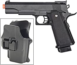 Galaxy G6H M1911 1911 A1 Metal Airsoft Spring Pistol with Quick Release Holster