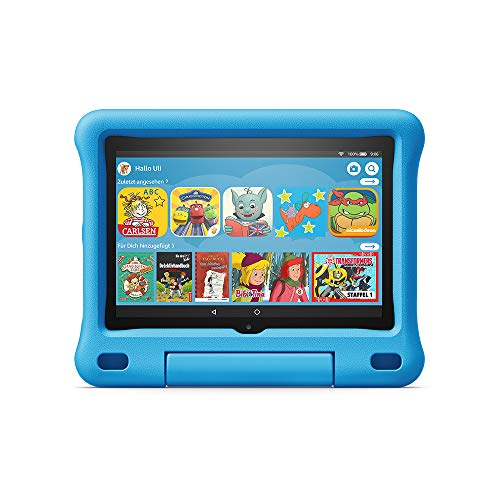 Bester der welt Neues Tablet für Kinder Fire HD 8 Kids Edition 8 HD32GB Blue Case