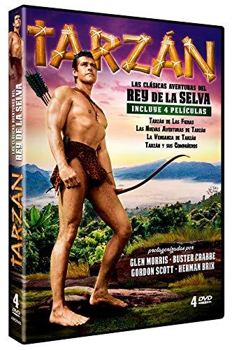 Pack Tarzan – Las Clasicas Aventuras del Rey de la Selva (Tarzán...