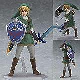 Kotee Anime Figure The Legend of Zelda Figma 320 Link Twilight Princess Zelda Movable 14cm Characters Statue Figurine Model Collection Toys Gift