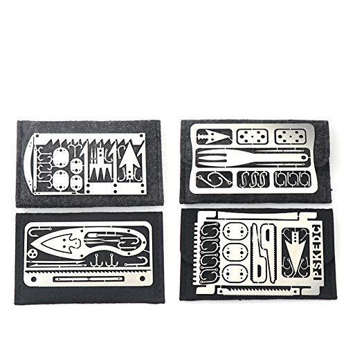en Plein Air Multifonctionnel Poisson Crochet Carte Carte De Pêche Portable Outils De Pêche Et De Chasse Outils De Survie Sauvage équipement De Pêche équipement De Pêche