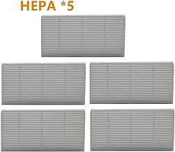 MIAOMIAO Pudełko Dust HEPA Filtr rama Gumowe uszczelki Pre filtr FILT FIT dla Vileda VR 302 Robotic Odkurzacz Część Akceso...