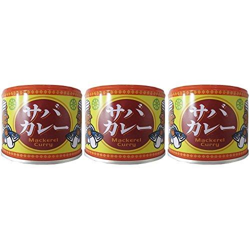 信田缶詰 サバカレー 190g×3個