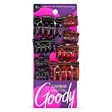 Goody Women's Classics Assorted Sizes Claw Clip, 8 Count (Pack of 1)