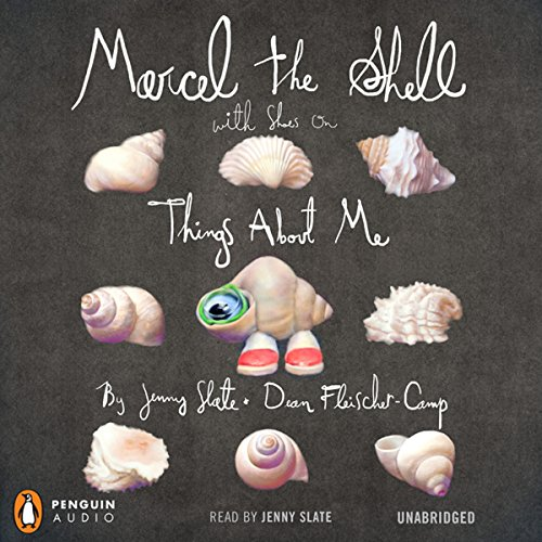 Marcel the Shell with Shoes On audiobook cover art