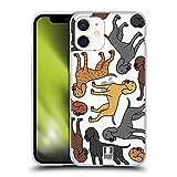 Head Case Designs Plott Patrones de Raza de Perro 16 Carcasa de Gel de Silicona Compatible con Apple...
