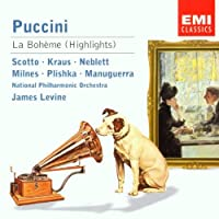 SCOTTO/KRAUS/POL./LEVINE/+ - LA BOHEME (HIGHLIGHTS) (1 CD)
