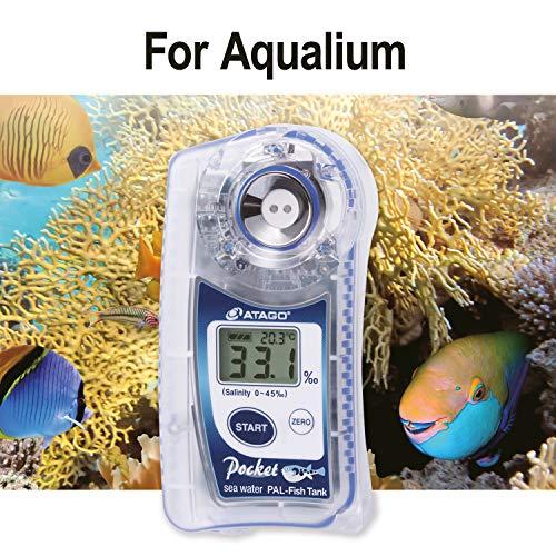 ATAGO CO.,LTD. PAL-Fish - Depósito irrompible para Agua de mar