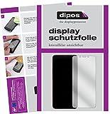 dipos I 6X Schutzfolie klar kompatibel mit Xiaomi Mi A2 Folie Bildschirmschutzfolie