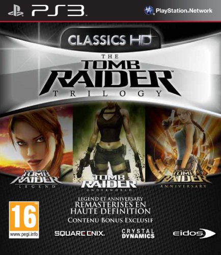 Square Enix The Tomb Raider Trilogy - Juego (PlayStation 3, Acción / Aventura, T (Teen))