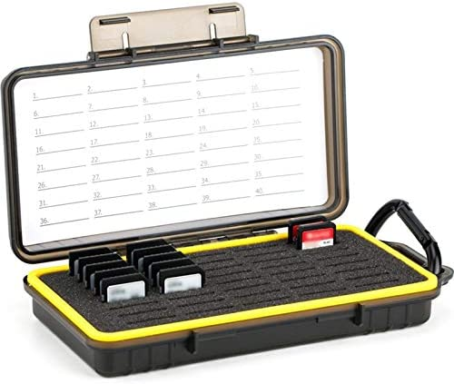 40 Slots Durable Memory Card Case Holder Organizer Keeper Water Resistant Protector for SD SDHC product image