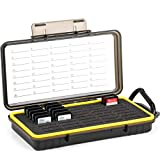 40 Slots Durable Memory Card Case Holder Organizer Keeper Water-Resistant Protector for SD SDHC SDXC Cfexpress Type A Camera Memory Card for Sony PSV PS Vita for Nintendo Switch Game Cards Storage