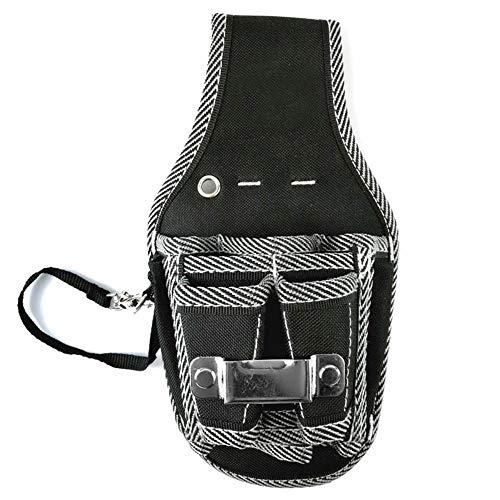 Huiyoo - Bolsa de herramientas para cinturón y destornillador, para electricista