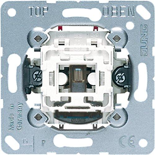Jung 1x Wipp-Kontrollschalter 502KOU 2polig Aus, 250 V