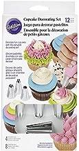 Wilton Cupcake Decorating Icing Tips, 12-Piece Set