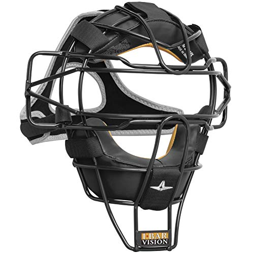 All-Star Fm25 Ultra Cool Lightweight Catchers Mask Black