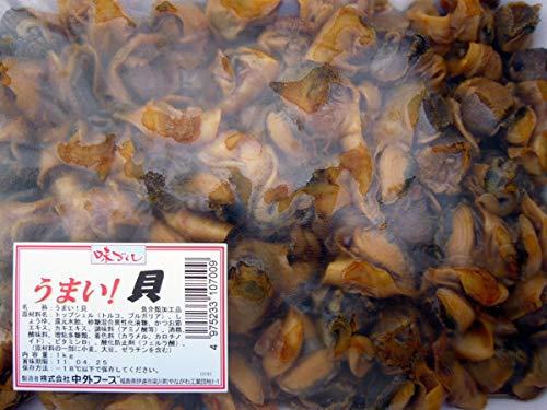 中外 うまい!貝 (アカニシ貝の味付き煮) 業務用 800g×6合セット